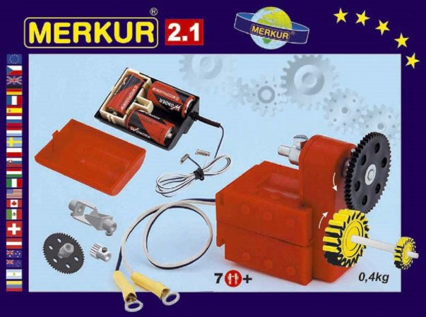 Merkur Stavebnice Merkur - M 2.1 Elektromotorek