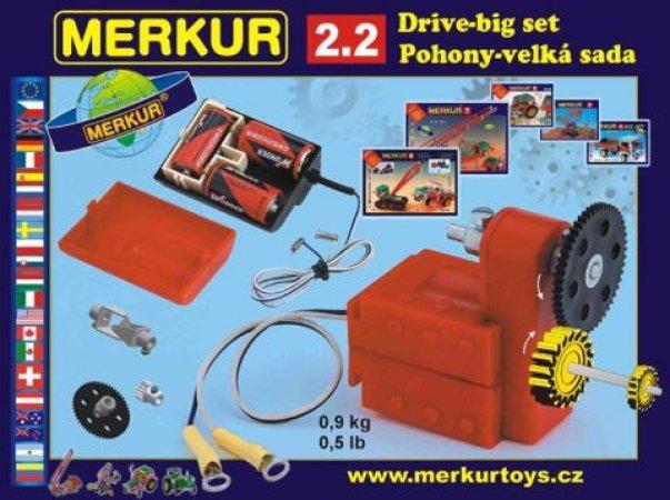 Merkur Stavebnice Merkur - M2.2 Pohony a převody