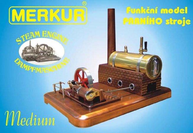 Merkur Stavebnice Merkur - Parní stroj Medium