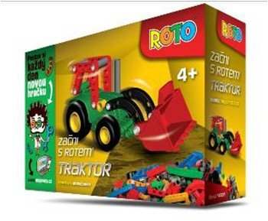 Efko Stavebnice Roto - Start 14001 - Traktor