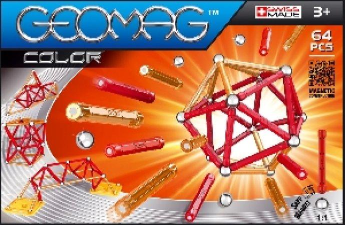 Geomag Stavebnice Geomag - Kids Color 64