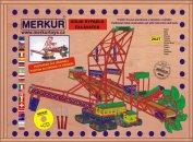 Merkur Stavebnice Merkur - Maxi rypadlo v kovové krabici