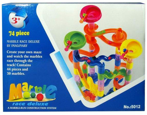 Mac Toys Kuličková dráha 74 dílů - Výprodej