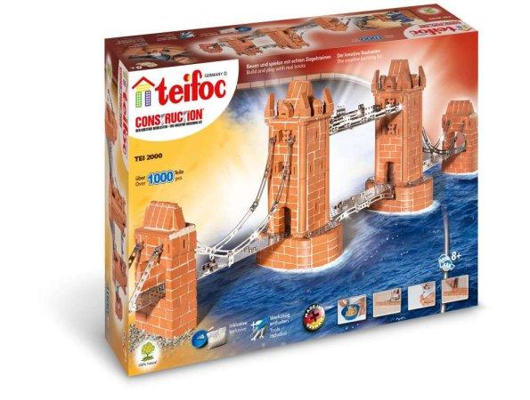 Teifoc Stavebnice Teifoc - Tower Bridge