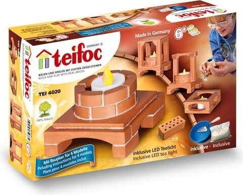 Teifoc Stavebnice Teifoc - Deco box svítící