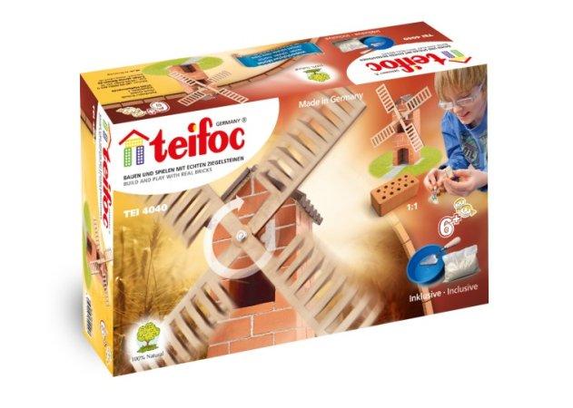 Teifoc Stavebnice Teifoc - Větrný mlýn