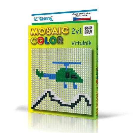 Seva Stavebnice Mosaic Color - Vrtulník 2v1