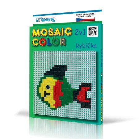 Seva Stavebnice Mosaic Color - Rybička 2v1