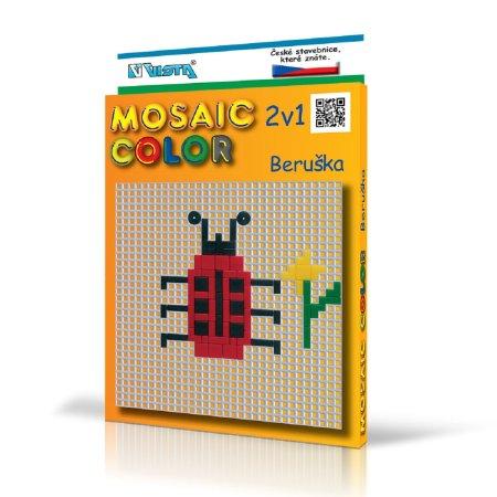 Seva Stavebnice Mosaic Color - Beruška 2v1