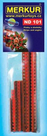 Merkur Stavebnice Merkur - Pásky a úhelníky - ND 101