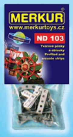 Merkur Stavebnice Merkur - Pásky a oblouky - ND 103