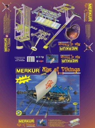 Merkur Stavebnice Merkur - Age of Vikings - 1350 ks