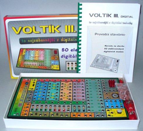 Svoboda Voltík III. - elektronická stavebnice