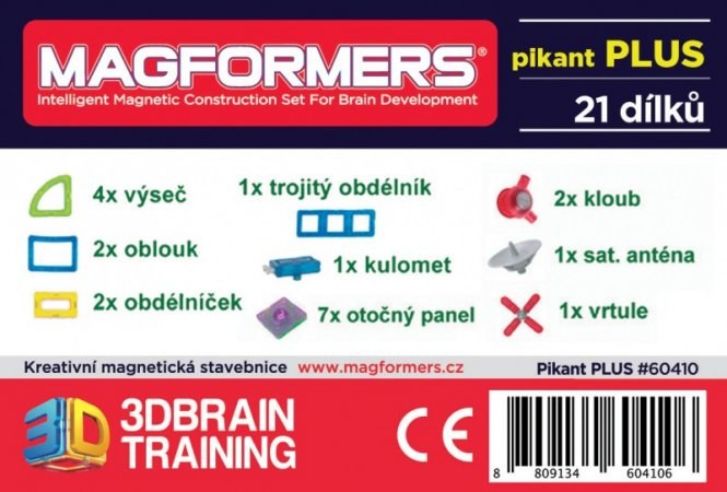 Magformers Stavebnice Magformers - Pikant PLUS