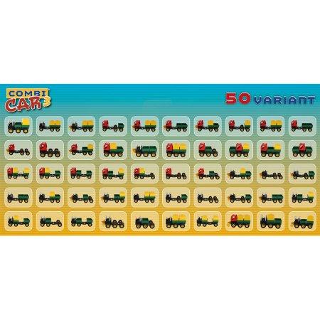 Seva Stavebnice Seva - Combi Car 3