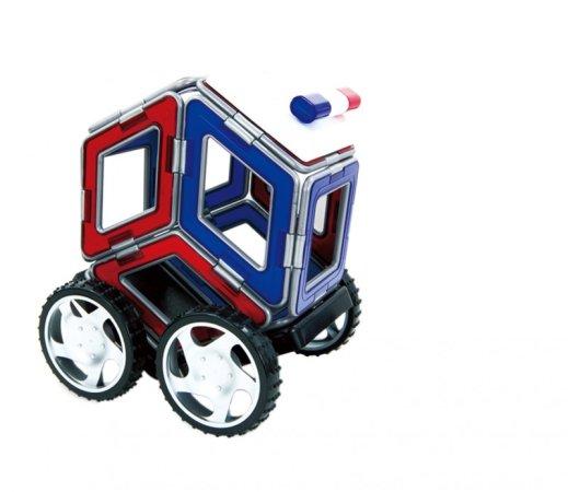 Magformers Stavebnice Magformers - XL Cruiser - Záchranáři