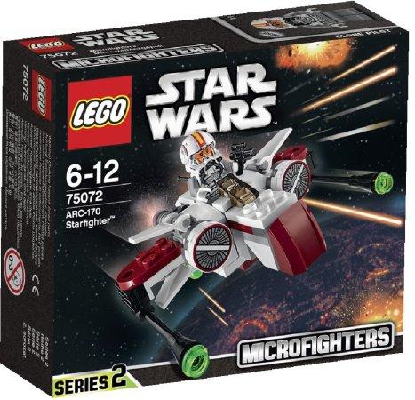 LEGO Star Wars 75072 - ARC-170 Starfighter (Hvězdná stíhačka ARC-170)