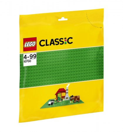 LEGO Classic 10700 - Zelená podložka na stavění