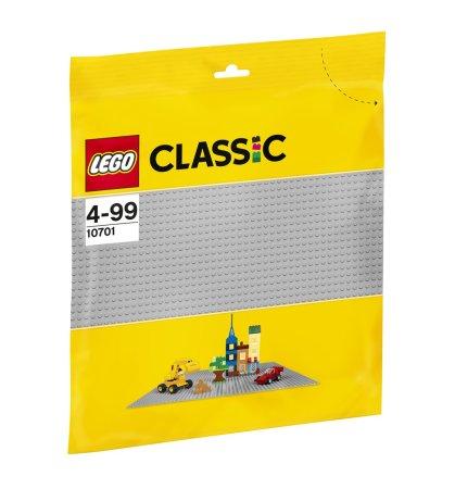LEGO Classic 10701 - Šedá podložka na stavění