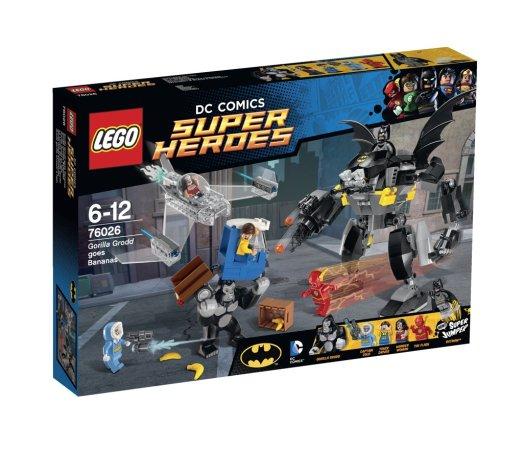 LEGO Super Heroes 76026 - Řádění Gorily Grodd