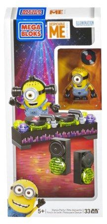 Mega Bloks Minions Party Sady - Mimoňové