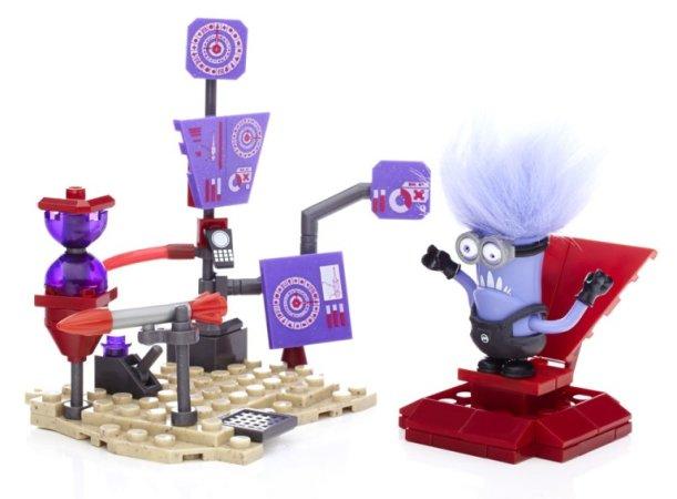 Mega Bloks Minions Laboratorní sady - Mimoňové