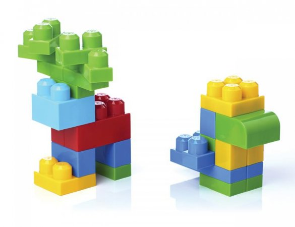 Mattel Stavebnice Mega Bloks BIG BUILDING BAG BOYS