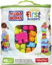 Mattel Stavebnice Mega Bloks First Builders Big Building - Bag unisex 60 ks