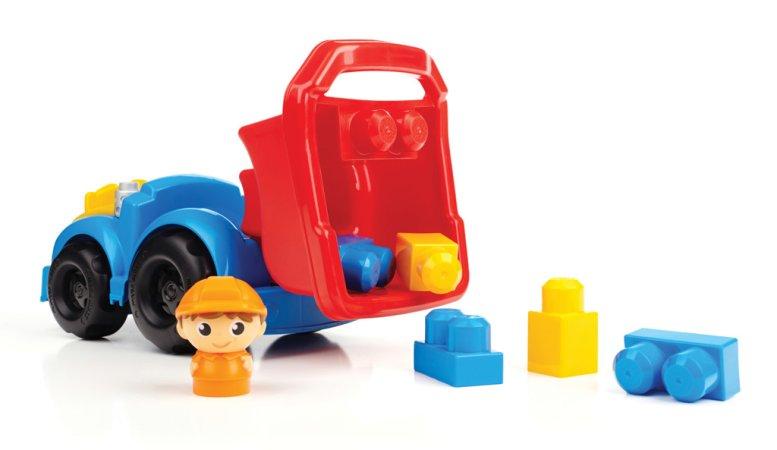 Mattel Stavebnice Mega Bloks First Builders - Náklaďák Dylan