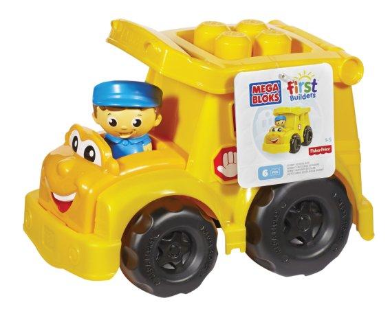 Mattel Stavebnice Mega Bloks First Builders - Školní autobus Sonny
