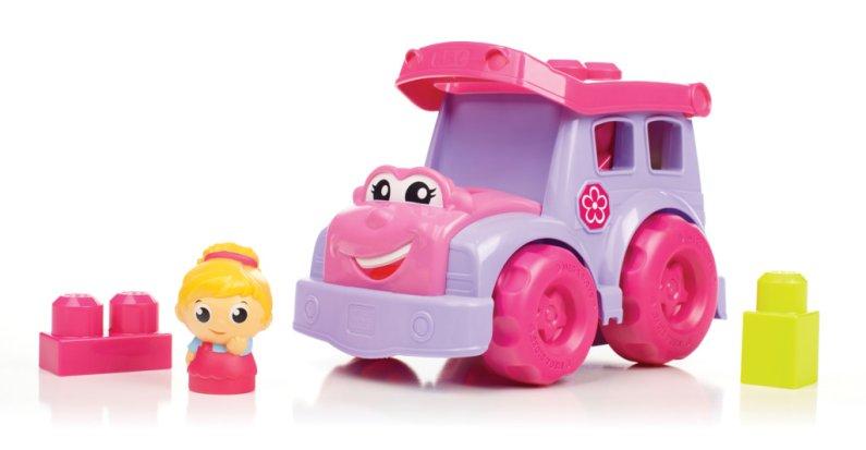 Mattel Stavebnice Mega Bloks First Builders - Školní autobus Sussie