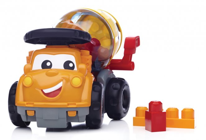 Mattel Stavebnice Mega Bloks First Builders - Míchačka Mike
