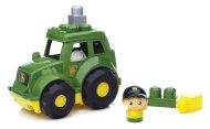 Mattel Stavebnice Mega Bloks John Deere - Traktor