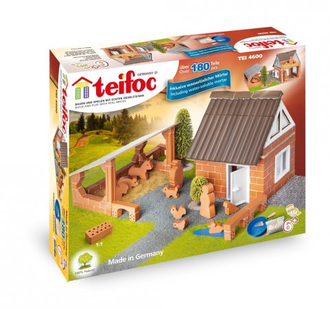 Teifoc Stavebnice Teifoc - Farma - 180 dílků