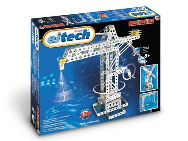 Eitech Stavebnice Metal Construction set - C05 Crane / Creane Bridge