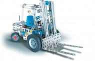 Eitech Stavebnice Metal Construction set - C08 Fork / Wheel loader