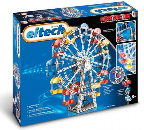 Eitech Stavebnice Metal Construction set - C17 Ferris Wheel