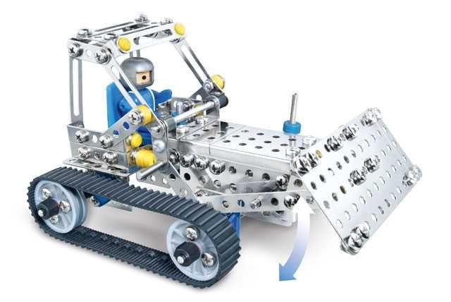 Eitech Stavebnice Metal Construction set - C21 Crawler type vehicles