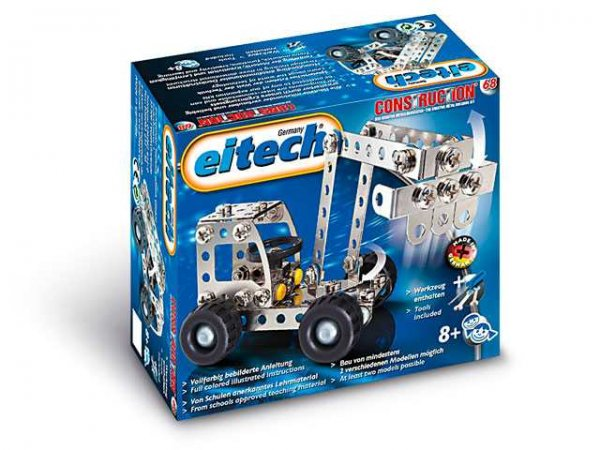 Eitech Stavebnice Starter box - C68 Digger / Truck