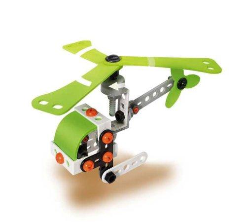 Eitech Stavebnice Beginner Set - C350 - Solar Set Helicopter - Aircraft / Solární sestava vrtulník a letadlo