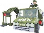 Dromader Vojáci Auto - 166 dílků