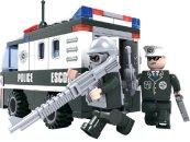 Dromader Policie Auto Dodávka - 127 dílků