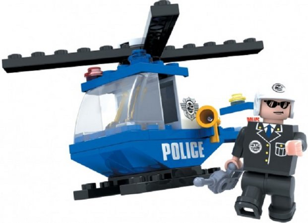 Dromader Policie Vrtulník - 47 ks