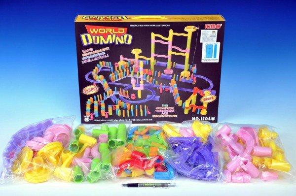 Teddies Domino s kuličkovou dráhou - 235 dílků