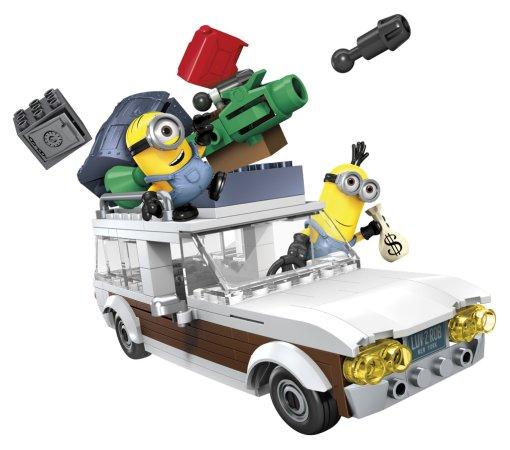 Mattel Stavebnice Mega Bloks Mimoňové - střední set