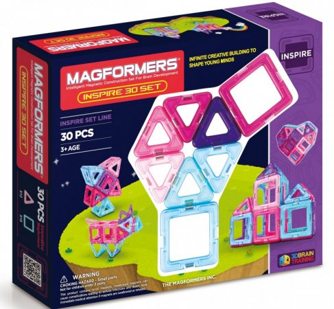 Magformers Stavebnice Magformers - Pastelle-30