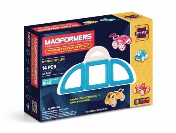 Magformers Stavebnice Magformers - Moje první bugy modré