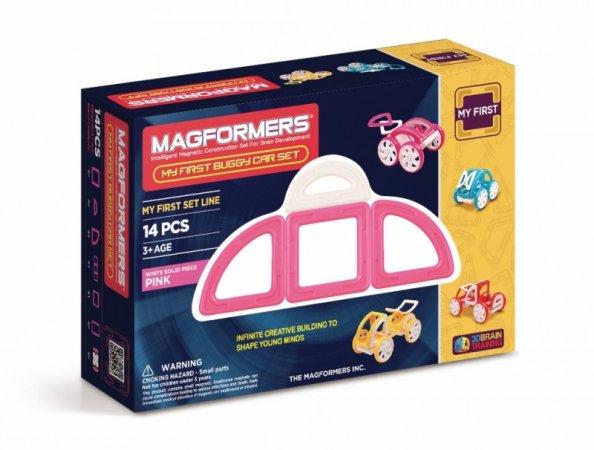 Magformers Stavebnice Magformers - Moje první bugy růžové