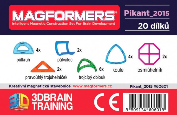 Magformers Stavebnice Magformers - Pikant 2015