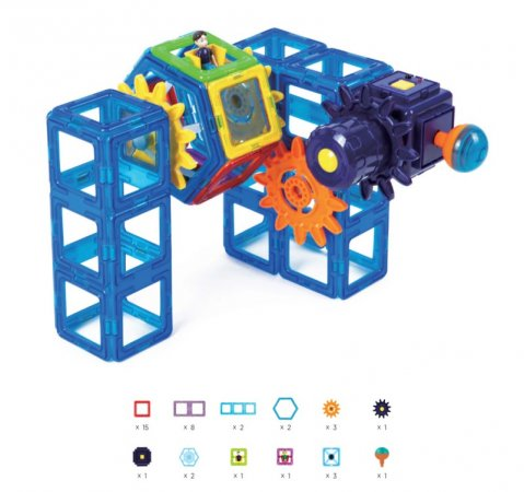 Magformers Stavebnice Magformers - Pikant Power Gear